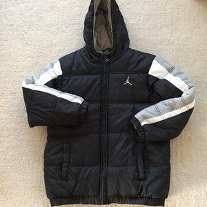 Air Jordan Boys Winter Puffer Coat Size M